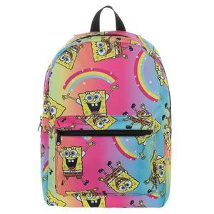 Sponge Bob Square Pants Backpack - Laptop Book Bag
